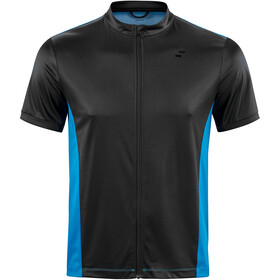 SQUARE Performance Jersey shortarm Herre blue'n'black